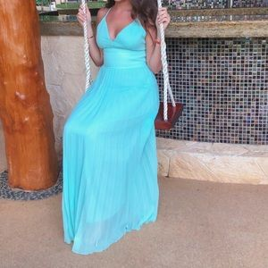 Dresses & Skirts - Tiffany Blue Maxi Dress